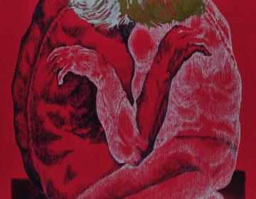 Yin Yang - 50x60 china color su cartoncino